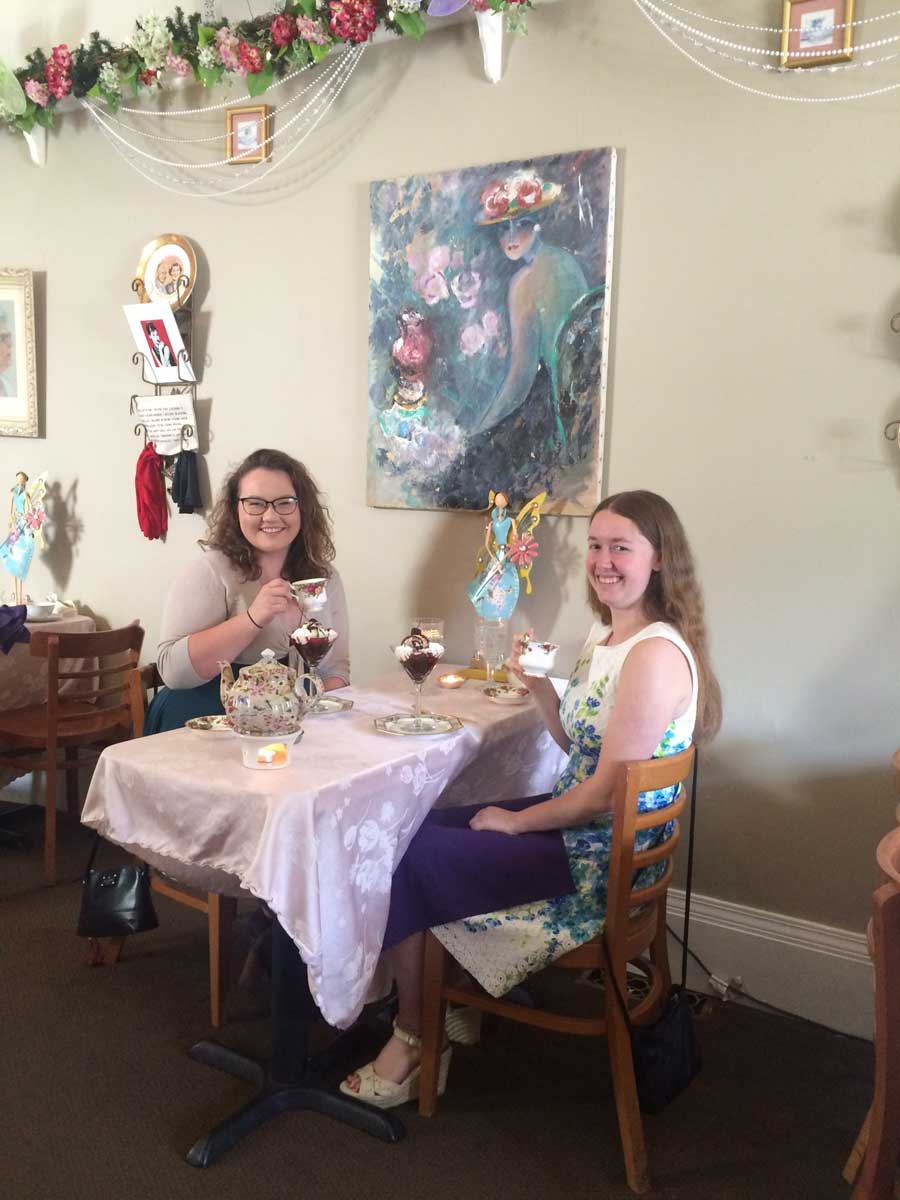 Emerald Necklace Inn - Best Friend's Tea Time