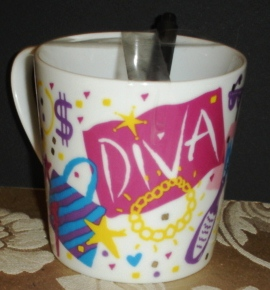 Emerald Necklace Diva Mug