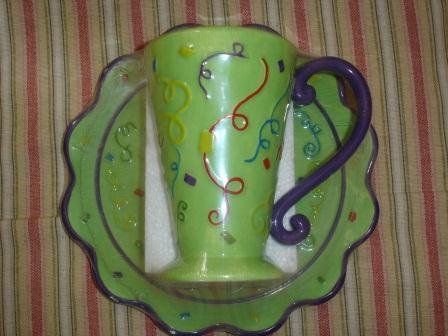 Emerald Necklace Inn - Green & Navy Mug