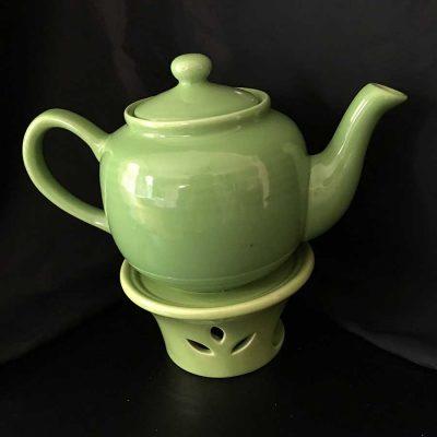 2-piece-Kelly-green-tea-pot-with-warmer.-3-cup-tea-pot-WEB