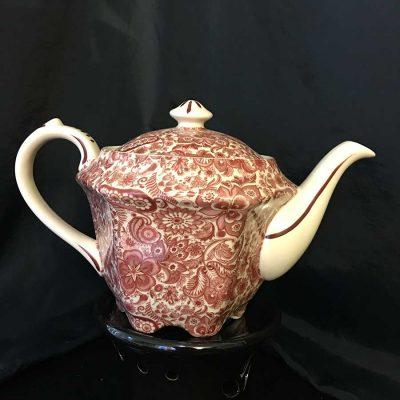 Maroon-transfer-print-tea-pot-'Paisley'--3-cup-tea-pot-WEB